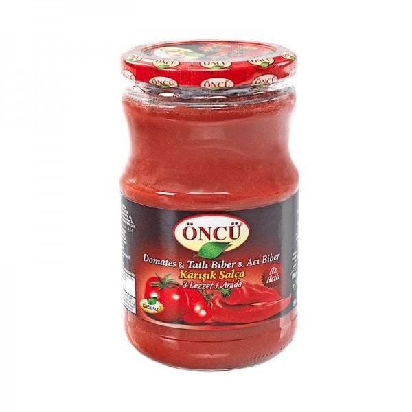 ÖNCÜ Tomatenmark & Paprikamark Mischung