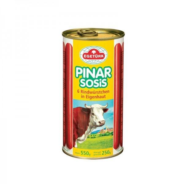 Egetürk Pinar 6 Rindwürstchen extrascharf