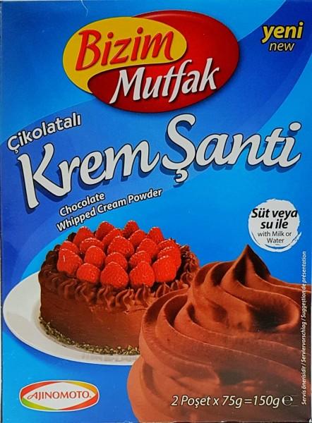 Krem Santi Schlagschaum Schokolade