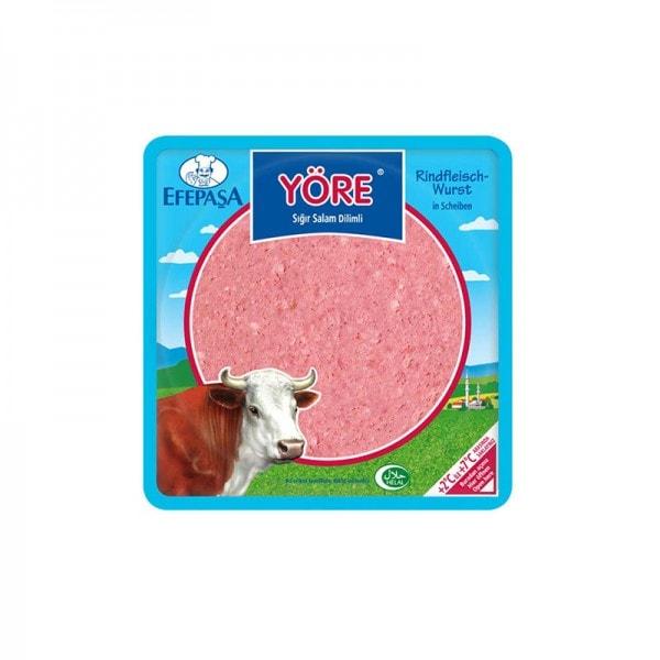 Efepasa Yöre Rindfleischwurst in Scheiben