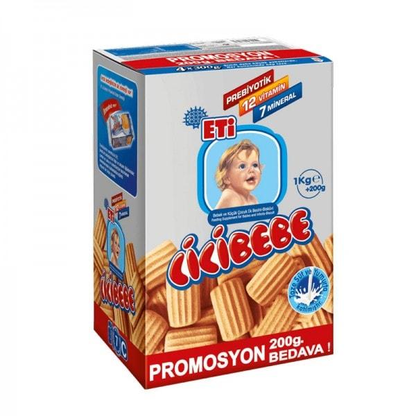 ETI Cicibebe Baby Kekse 4er Pack