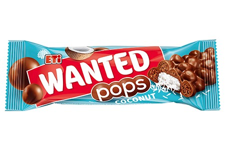Wanted Pops Coconut Schokoriegel