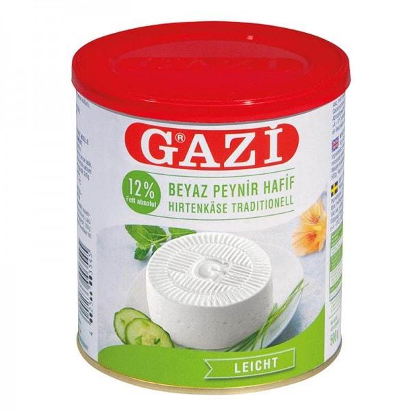 GAZI Hirtenkäse traditionell Light 12% Fett
