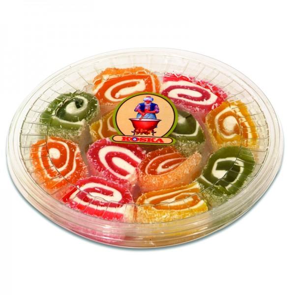 Lokum Turkish Delight mit Fruchtaroma