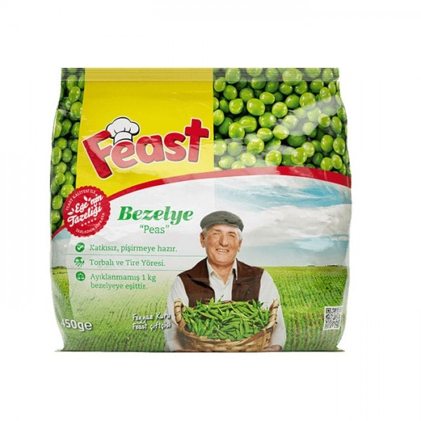 Feast Erbsen · Bezelye