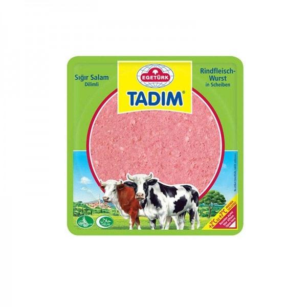 Egetürk Tadim Rindfleischwurst in Scheiben