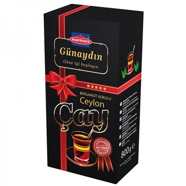 marmara Günaydin Ceylon-Bergamotte Tee
