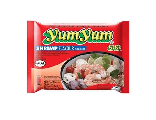 YumYum Shrimp Instantnudeln mit Garnelengeschmack