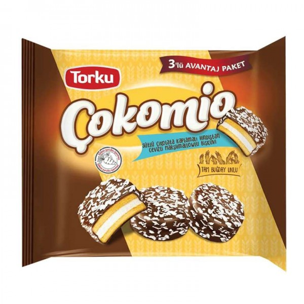 Cokomio Schokokekse mit Schaumfüllung 3er Pack