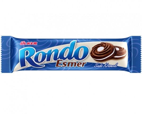 ÜLKER Rondo Kakaokekse mit Cremefüllung