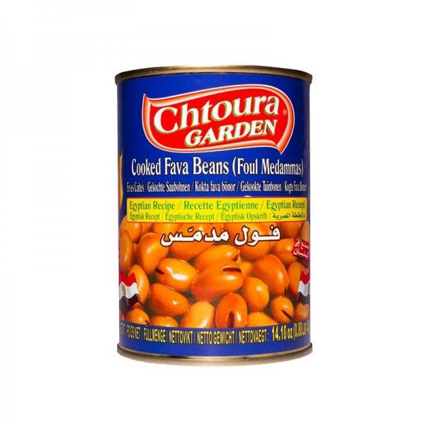 Chtoura Garden Foul Gekochte Saubohnen nach Ägyptischem Rezept