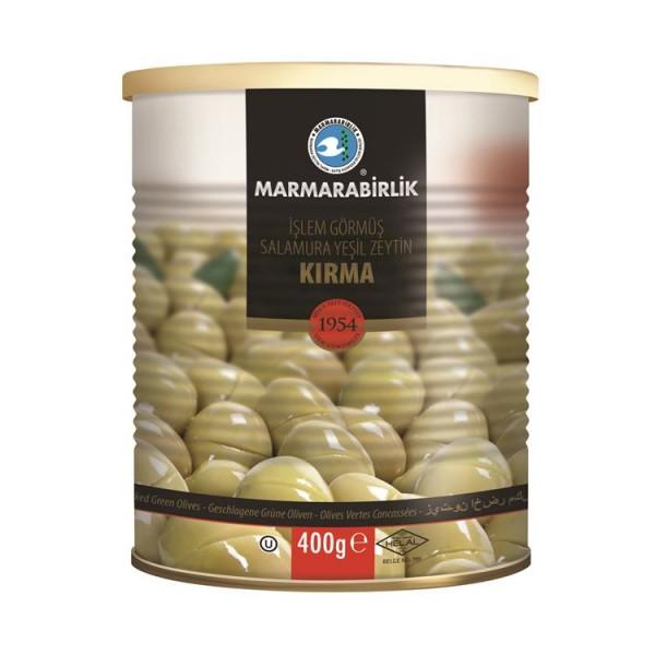 Geschlagene Grüne Oliven 400g
