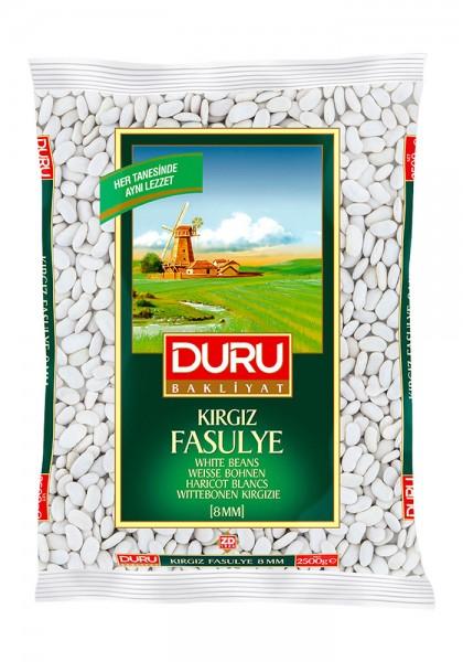 Weiße Bohnen Kırgız Fasulye 8mm