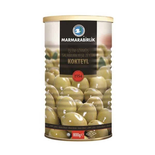 Grüne Oliven mit Stein 750g