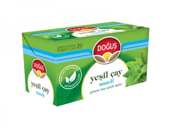 Grüner Tee Minze 20 Beutel