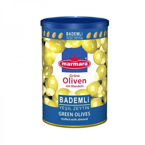 marmara Grüne Oliven mit Mandeln