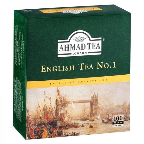 Ahmad Tea Englischer Tee Nr. 1 100 Beutel