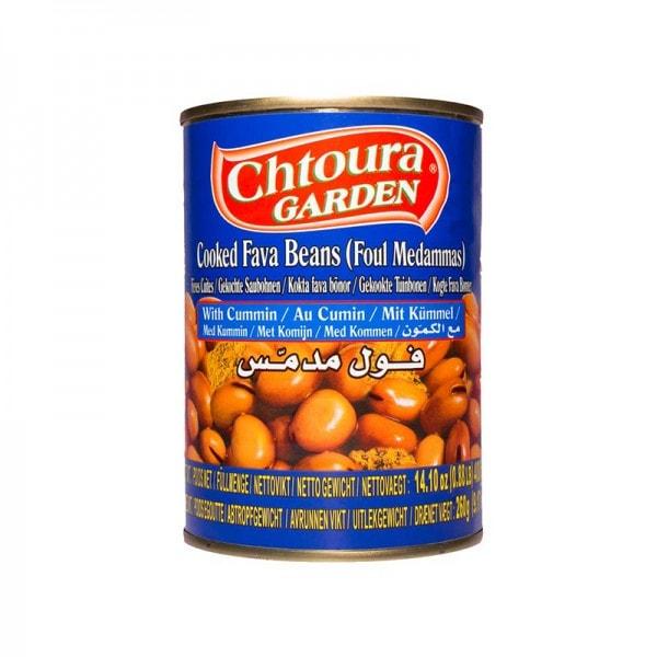 Chtoura Garden Foul Gekochte Saubohnen mit Kümmel