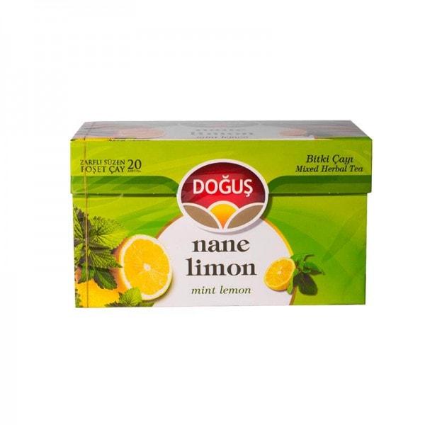 Doğuş Pfefferminze-Zitronentee 20 Beutel