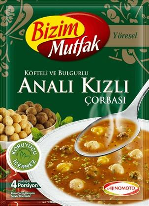 Köfte-Bulgur-Suppe Analı Kızlı