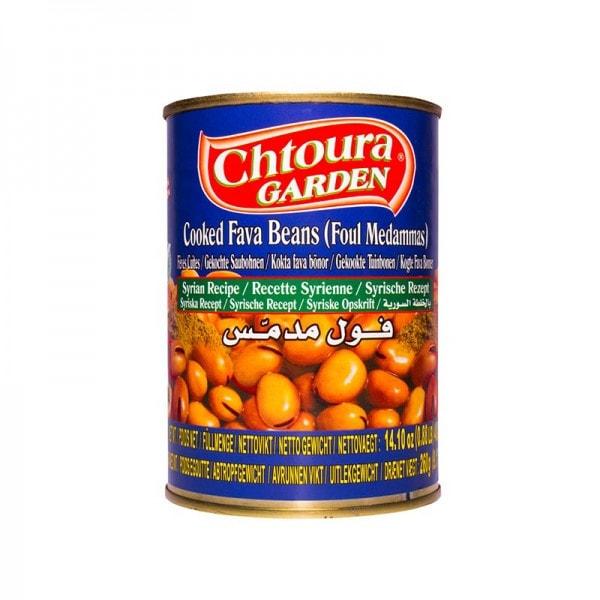 Chtoura Garden Foul Gekochte Saubohnen nach Syrischem Rezept