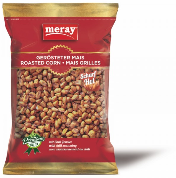 Gerösteter Mais Chili Hot 180g