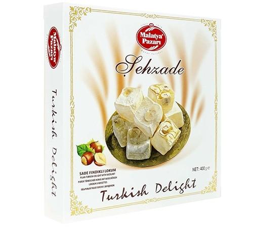 Lokum Turkish Delight Haselnuss