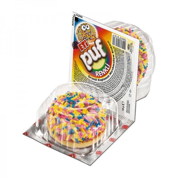 PUF Marshmallow Kekse mit Streuseln