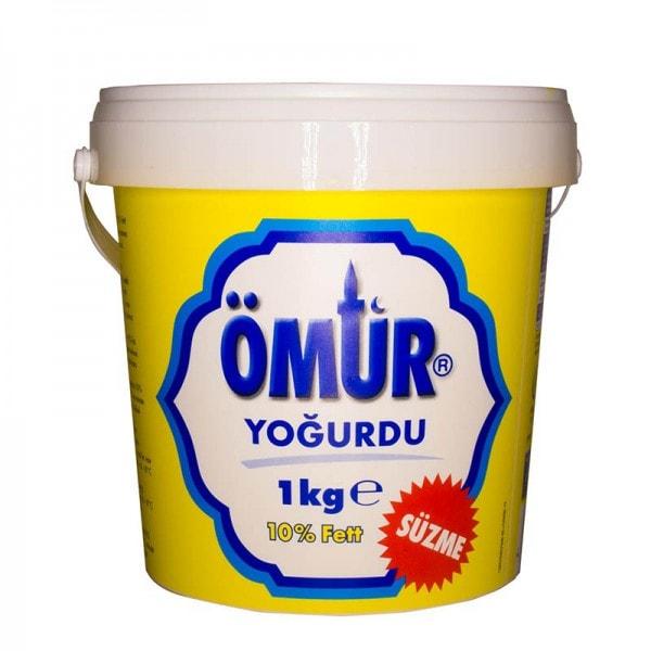 ÖMÜR Sahnejoghurt 10% Fett
