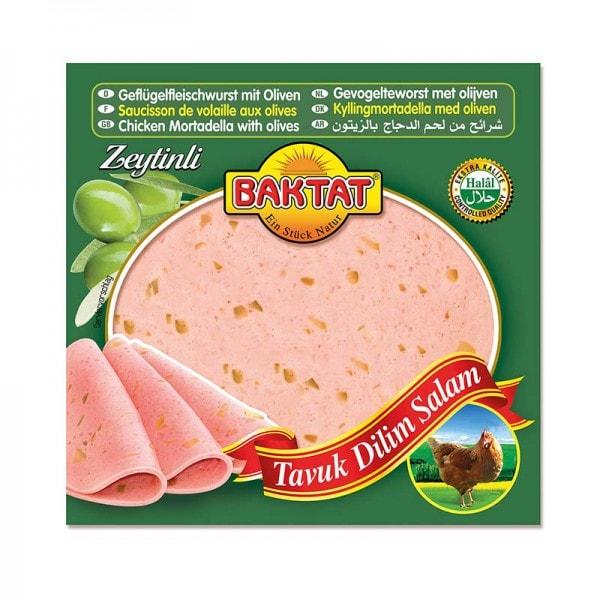 BAKTAT Geflügelfleischwurst mit Oliven