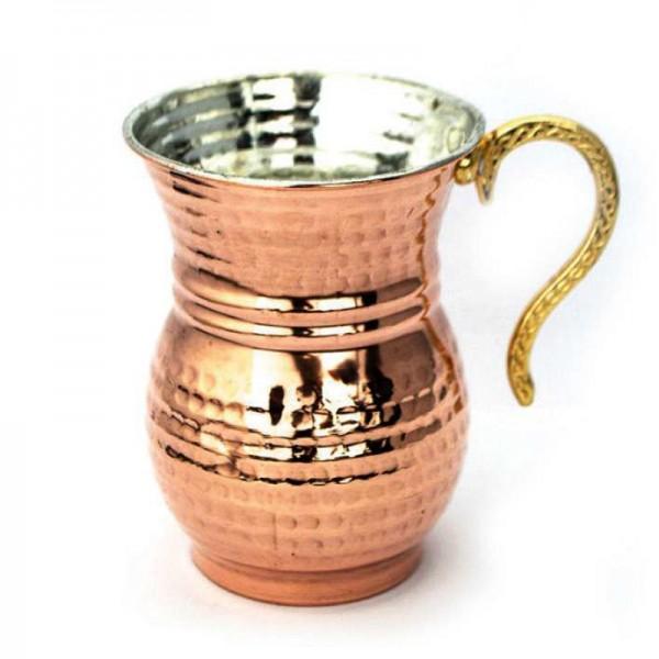 Ayranbecher aus Kupfer