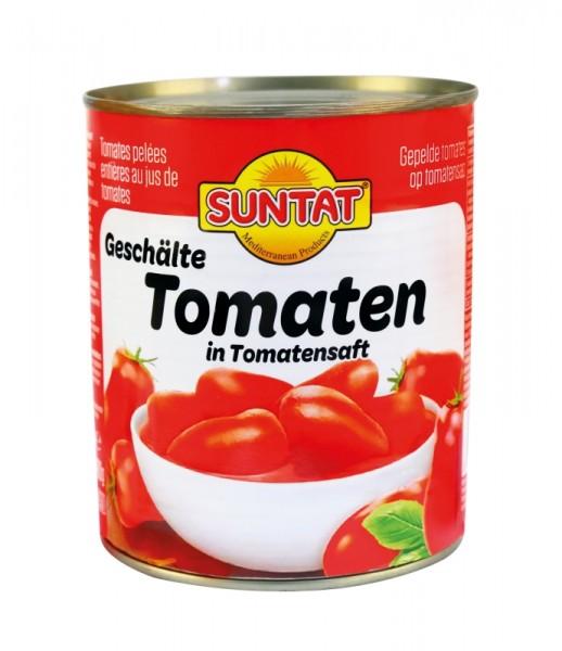 Geschälte Tomaten in Tomatensaft 480g
