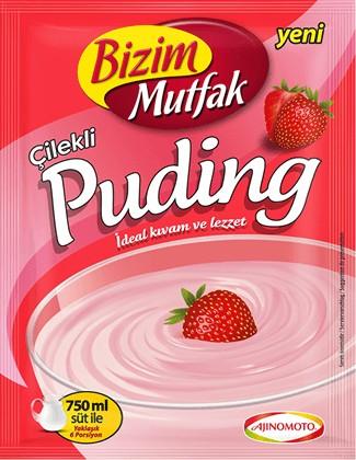 BIZIM Erdbeerpudding