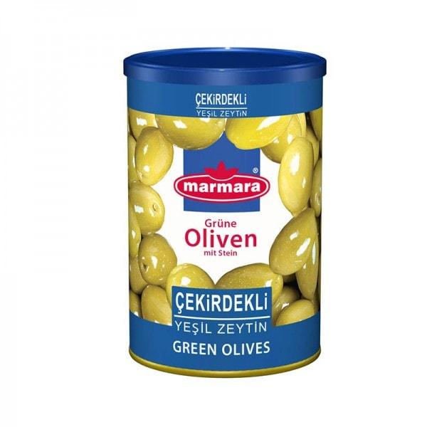 marmara Grüne Oliven mit Stein
