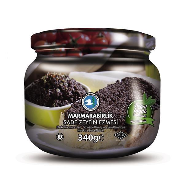 Schwarze Olivenpaste 340g