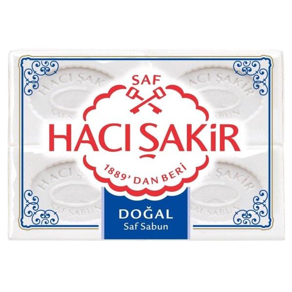 HACI SAKIR Natürliche Seife 4x175g Pack