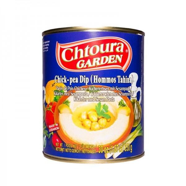 Chtoura Garden Hommos Kichererbsen mit Sesampaste