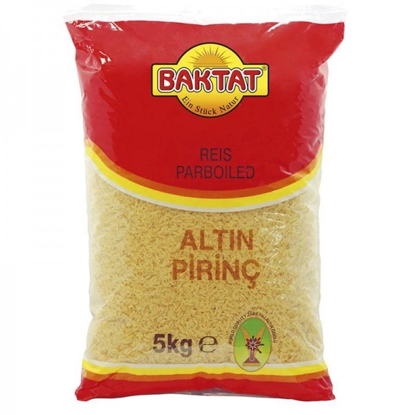 BAKTAT Parboiled Reis