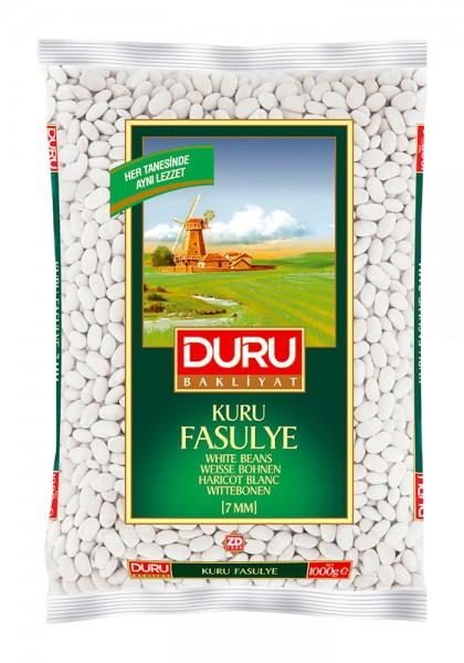 Weiße Bohnen Kuru Fasulye 7mm