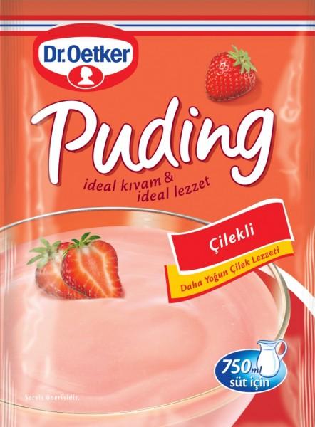 Erdbeerpudding
