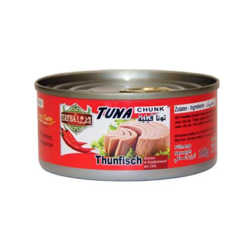 Thunfisch mit Chili 160g