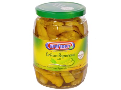 Grüne Peperoni mild 280g