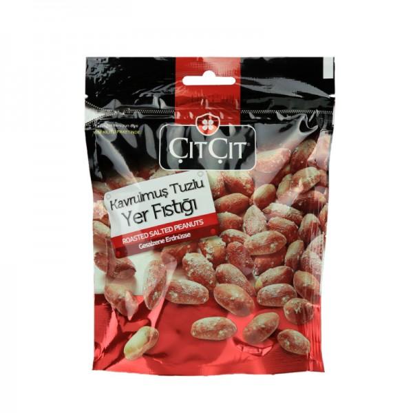 Erdnüsse in Schale geröstet und gesalzen 180g
