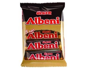 Albeni Schokoriegel 5er Pack