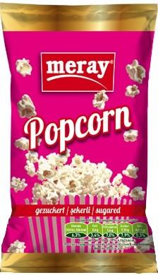 Mikrowellen Popcorn gezuckert