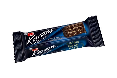 Karam Gurme Waffel mit Bitterschokolade