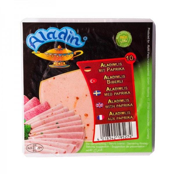 Aladin Aladimlis 10 Wurstscheiben mit Paprika