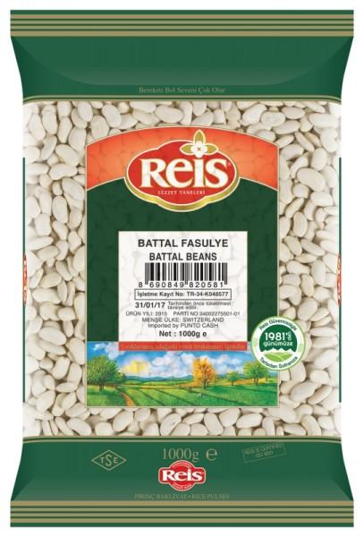 Weiße Bohnen Battal Fasulye 1kg