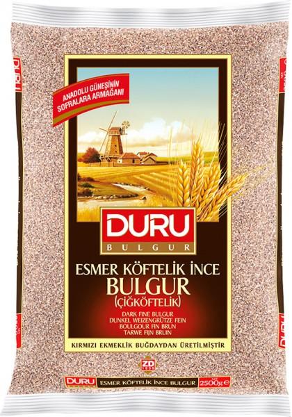 Weizengrütze dunkel fein Esmer Köftelik Ince Bulgur