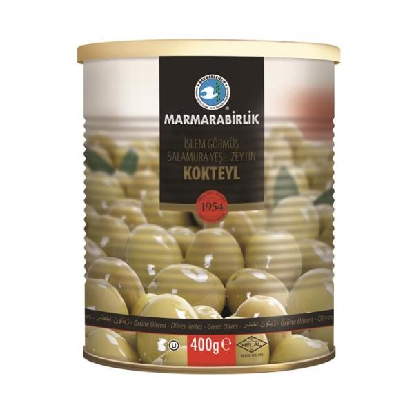 Grüne Oliven mit Stein 400g